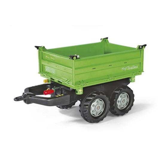Rolly Toys - Deutz fahr traktorsläp med tipp