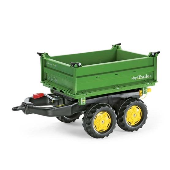Rolly Toys - john deere traktorsläp med tipp