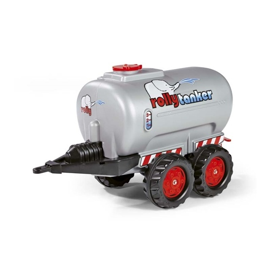 Rolly Toys - Rollytanker Silver - Twin Axles