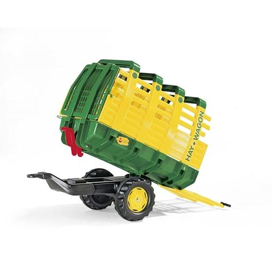 Rolly Toys - Rollyhay Wagon - Grön - One Axle