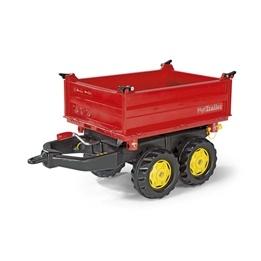Rolly Toys - mega Trailer traktorsläp - Röd med tipp
