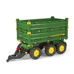 Rolly Toys - John Deere grönt traktorsläp med tipp