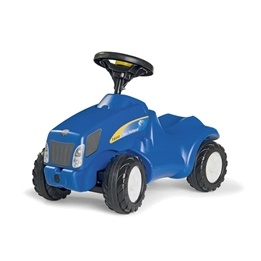 Rolly Toys - mini trac New holland T6010 sparkbil