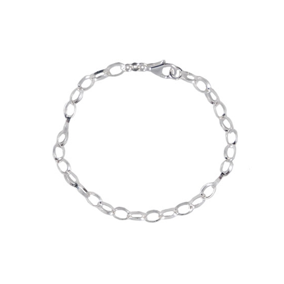 Dacapo Silver - Armband 18 Cm Från Sagosmycken - Äkta Silver