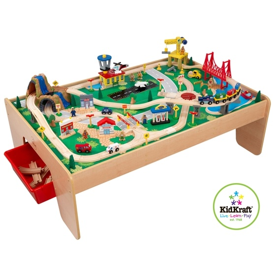 Kidkraft - Tågbana - Waterfall Mountain Train Table
