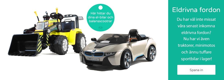Eldrivna fordon för barn