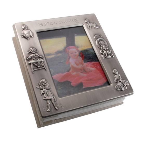 "Dacapo Silver - Fotoalbum ""Boken Om Mej"" 100 Foton 10X15 Cm"