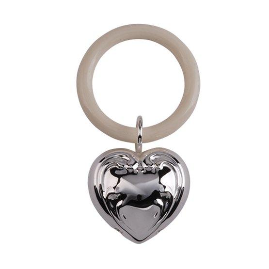Dacapo Silver - Skallra Hjärta Totalt Mått 9 Cm