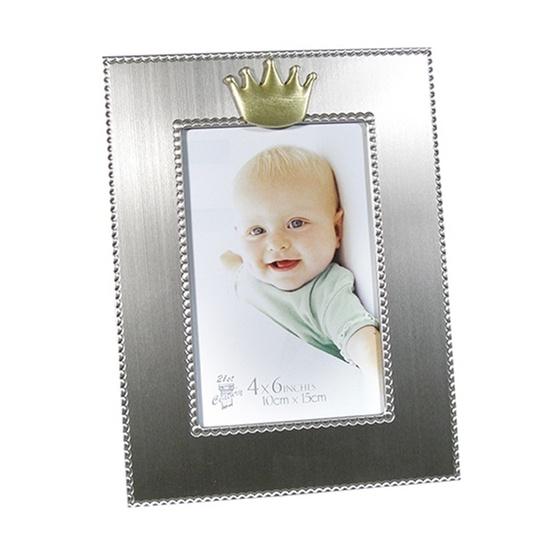 """Dacapo Silver - Fotoram """"Krona"""" För Foto 10X15 Cm"""