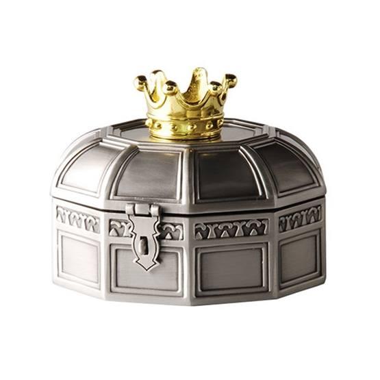 Dacapo Silver - Smyckeskrin D8,5 Cm M Fg Krona På Locket