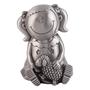 Dacapo Silver - Sparbössa Flicka Med Lamm. H 10 Cm