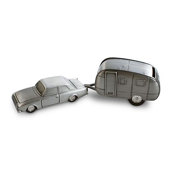 Dacapo Silver - Sparbössa Bil M Husvagn H 5 Cm