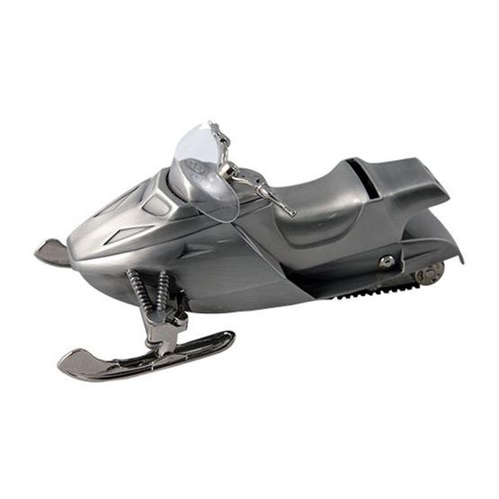 Dacapo Silver - Sparbössa Snöskoter L 20 Cm