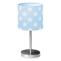 Kids Concept - Bordslampa Star Ljusblå/Vit