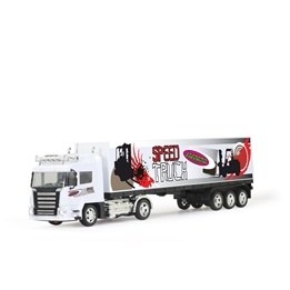 Jamara - Container-Truck white with light, RTR