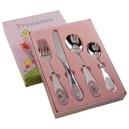 """Dacapo Silver - Barnbestick """"Prinsessa"""" 4-Del"""