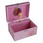 Dacapo Silver - Smyckeskrin Speldosa Rosa
