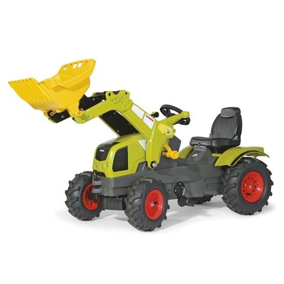 Rolly Toys - Rollyfarmtrac Claas Axos 340 - Rollytrac L. - Pneum. Wheels
