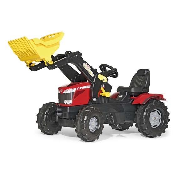 Rolly Toys - Rollyfarmtrac Massey Ferguson 8650 - Rollytrac Lader -