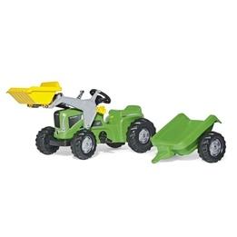 Rolly Toys - Rollykid Futura Traktorlastare med släp