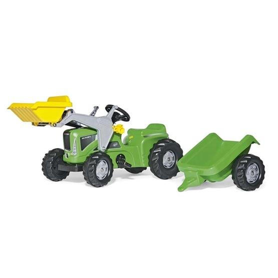 Rolly Toys - Rollykiddy Futura Trac - Rollykid Trailer - Rollykid Lader
