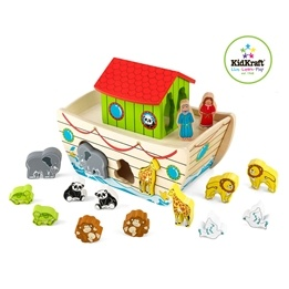 Kidkraft - Sorteringslåda - Noas Ark