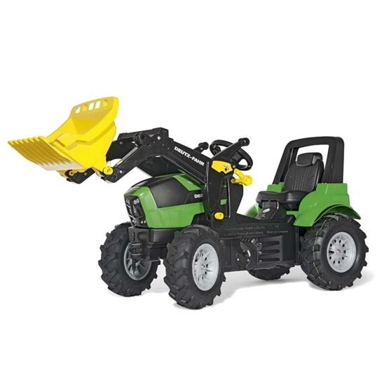 Rolly Toys - Rollyfarmtrac Deutz Agrotron 7250 Ttv - Rollytrac Lader - Pneum. Wheels