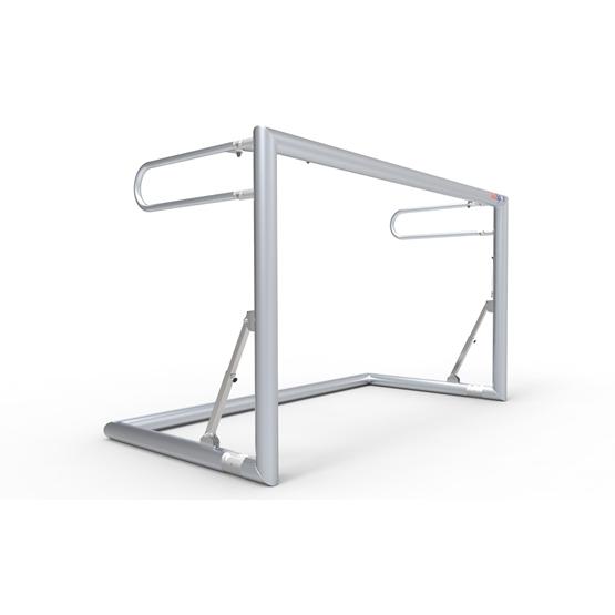 Alusport - Fotbollsmål -200x120cm - Ihopfällbart - Prof