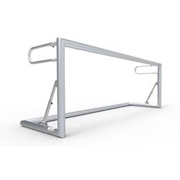 Alusport - Fotbollsmål -300x100cm - Ihopfällbart - Prof