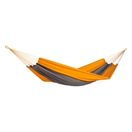 Amazonas - Hängmatta - Silk Traveller Techno - Orange/Grå - XXL
