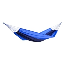 Amazonas - Hängmatta - Silk Traveller Ocean - Mörkblå/Ljusblå - XXL