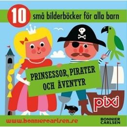 Bonnier Carlsen - Pixibox, Prinsessor, Pirater Och Äventyr