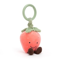 Jellycat - Aktivitetsleksak - Amuseable Strawberry Jitter
