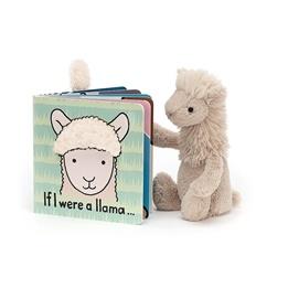 Jellycat - If I were a Llama Book