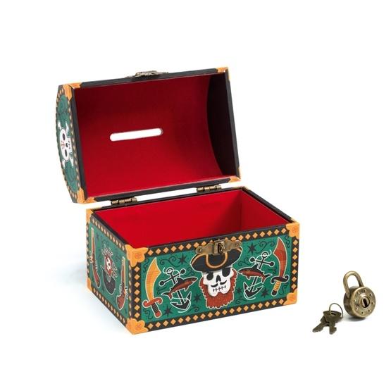 Djeco - Sparbössa - Money Box Pirate