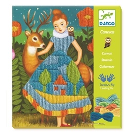 Djeco - Pyssel - Drops stich Dress