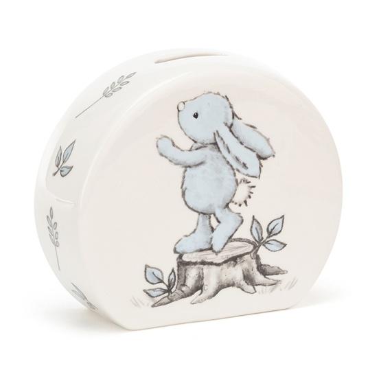 Jellycat - Sparbössa - Bashful Blue Bunny Money Box