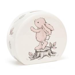 Jellycat - Sparbössa - Bashful Pink Bunny Money Box