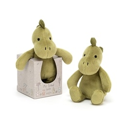 Jellycat - My Friend Dino Rattle