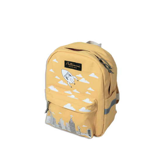 City Backpack Mustard