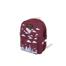 City Backpack Red