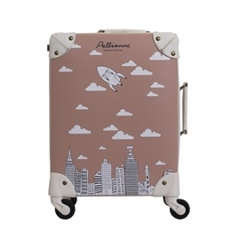 City Suitcase, rose
