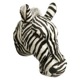 Djurhuvud ZebraFör Vägg