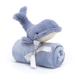 Jellycat -Wilbur Whale Soother