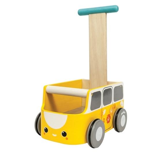 Plan Toys - Van Walker Vagn Gul