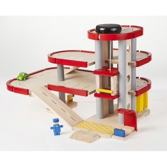 Plan Toys - Parkeringsgarage
