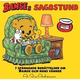 Egmont - Bamses Sagostund - CD