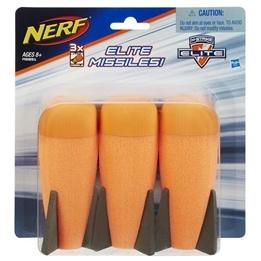 Hasbro - Nerf N'Strike Elite Missile Refill 3Pack