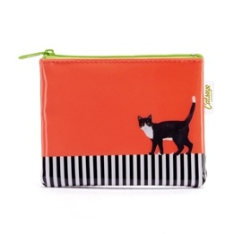 Catseye - Cat On Stripe Coin Purse