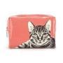 Catseye - Etching Cat Large Beauty Bag